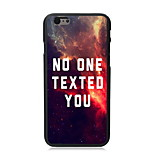 No One Texted You Design Hard Case for iPhone 6 Plus