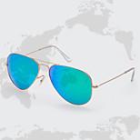 Unisex 's Anti-Reflective Rectangle Sunglasses
