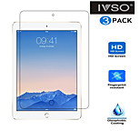 IVSO  Screen Protector Premium Crystal HD Clear Scratch Resistant -3 Pack for iPad Air 2 Tablet