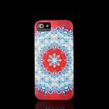 aztec mandala bloempatroon hoes voor iPhone 4 Case voor iPhone 4s