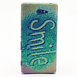 Fluorescence Smile Pattern PC Hard Material Phone Case for Sony Xperia M2 S50h D2303 D2305