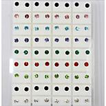 Silver Earrings  /1set(36pair)