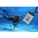 iPhone 4/4S/5/5S/5C compatible Waterproof Bag Underwater 15M IPX8 Phone Case with Lanyard (Assorted Colors)
