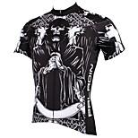 PaladinSport Men's Short Sleeve Cycling Jersey New Style Pray DX516 100% Polyester