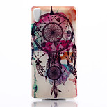 Campanula Pattern TPU Material Phone Case for Sony Z4
