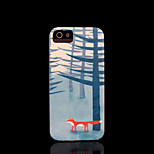 Fuchs Muster Abdeckung für iPhone 4 Fall / iphone 4s Fall