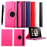 KARZEA™360 Degree Rotating Litchi Pattern PU Leather Case with Stand for Kindle Fire HD 6(2014) (Assorted Colors)