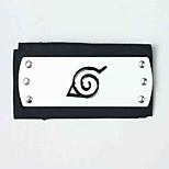 Gioielli / Accessori per capelli Ispirato da Naruto Naruto Uzumaki Anime Accessori Cosplay Accessori per capelli Nero Lega / Terylene Uomo