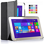 ivso toshiba encore 2 WT10-A32 / A64 10,0-inch Windows 8.1 tablet ultra-dunne Smart Cover geval (zwarte)
