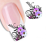 Water Transfer Printing Nail Stickers NO.1554