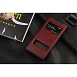 internationale versie van de pu leren speciaal ontworpen lichaam het venster voor Sony Xperia Z2 (assorti kleur) openen