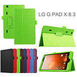 8.3 Inch Two Folding Pattern Lichee Case with Stand for LG G Pad X 8.3 (V500) (Assorted Colors)