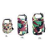 Camouflage Color 20L Ultralight Portable Outdoor Travel Rafting Waterproof Dry Bag Swim Storage