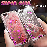Fashion Design Quicksand Hard Case for iPhone 6 (Assorted Colors)