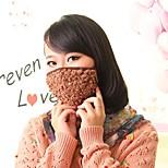Lovely Fleece Anti-Dust Winter Thermal Adult Respirator Face Masks Health Gauze Mask(Random Color)