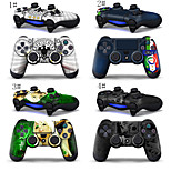 Combo Protective Vilnyl Full Case Skin for Sony Playstation 4 PS4 Controller (2 PCS)