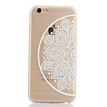 Right Flower Pattern Hard Back Case for iPhone 6