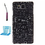 Elements of Formulas  Pattern TPU Phone Case  for Samsung Galaxy Alpha/G850