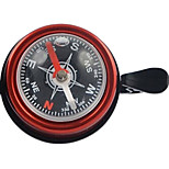 WEST BIKING® Bicycle Bell Hand Bell Bicycle Horn Aluminum Mini Thumb Compass Pattern Bell Durable Cycling Accessories