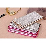 Crystal Sky Star Rhinestone Bling Metal Bumper Case Cover Diamond Design Back Shell for iPhone 6 Plus (Assorted Colors)