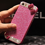 Luxury Bling Glitter Bowknot Back Cover Case with Diamond for iPhone 6 Plus(Assorted Colors)