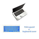 Top Quality PalmGuard and TPU Solid Colors Keyboard Flim for Macbook Pro 15.4 inch (Assorted Colors)