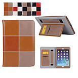 Fashion Stitch Crazy Horse Pattern PU Leather Full Body Case Cover with Stand for iPad Air/Air 2(Assorted Color)