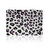 Top Quality Leopard Print Flip PVC Full Body Hard Case Cover for Macbook Pro 13.3 inch