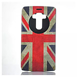 Union Jack Pattern PU Leather Purse Stand Function Holster Case For LG G4