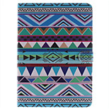 Colorful Cloth Picture PU Leather Full Body TPU Case with Card Holder for Ipad Air Ipad 5