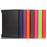 Solid Colors Luxury Leather Folio Full Body Stand Case Cover for Lenovo Yoga 2 830F (Assorted Colors)