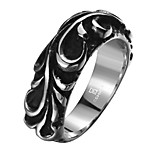 Exaggerated Personality Rock Titanium Steel Stainless Steel Men's Ring