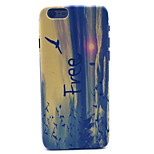 Sunrise  Pattern Plastic Hard Cover for iPhone 6