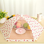 Cute Polka Dot Style Collapsible Food Cover Random Color