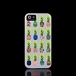 / caso del iphone 4 s la cubierta del patrón de la piña para el iphone 4 carcasa