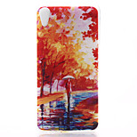 Mangrove Forest Pattern Material TPU Soft Phone Case for Sony Xperia Z3