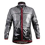 WOSAWE Cycling Bicyling Windproof Hooded Waterproof Coat Bike MTB Thin Raincoat with A Self-storage Bag