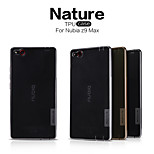 NILLKIN Nature Series Ultra Thin Transparent TPU Case for Nubia Z9 Max(Assorted Colors)