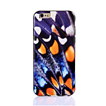 Butterfly Wings Design Tpu Soft Case Back Cover for iPhone 6 4.7inch(Assorted Colors)