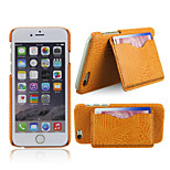 Support with Card Bag Case for iPhone 6  (Assorted Colors)