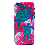 Turtles Pattern Plastic Hard Cover for iPhone 6