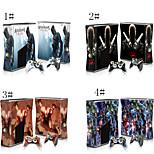 Abziehbilder Haut Aufkleber für XBOX360 Slim Konsole&2 Controller