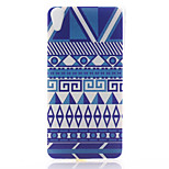 Stripe Pattern Material TPU Soft Phone Case for Sony Xperia Z3