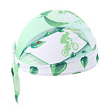 WEST BIKING® Unisex Soft Breathable Bicycle Cap Green Life Polyester Pirate Kerchief UV Sunscreen Cycling Accessories