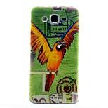 model papagal TPU caz moale pentru Samsung Galaxy e7