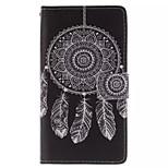 tryckt på insidan och utanför vindspel mönster läder hela kroppen fallet för Samsung Galaxy S3 i9300