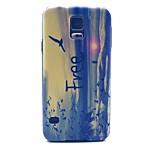 corak burung percuma perlindungan kes keras untuk i9600 Samsung galaksi s5