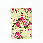 Peony TPU painted Tablet PC Case for Ipad Air2