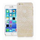padrão de salgueiro telefone transparente caso de volta caso capa para o caso iphone6