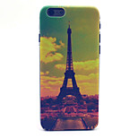Painting Tower Pattern Plastic Hard Cover for iPhone 6